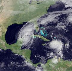 huracan en el caribe