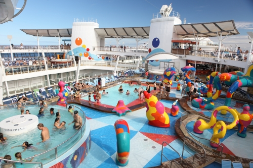 Piscinas en Oasis of the Seas