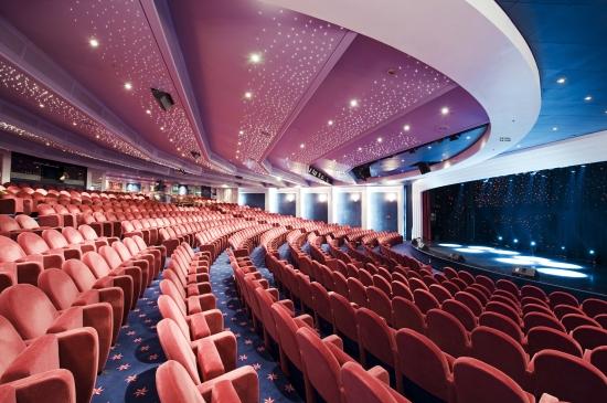 MSC Lirica - Teatro The Broadway