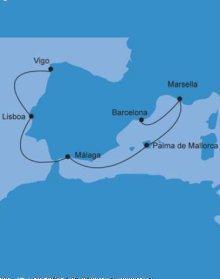 MSC Splendida - itinerario pre-inaugural