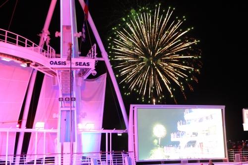 Oasis of the Seas - Ceremonia