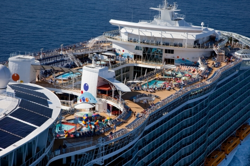 Oasis of the Seas - Vista aerea