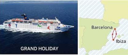 Grand Holiday - Crucero Party Ibiza
