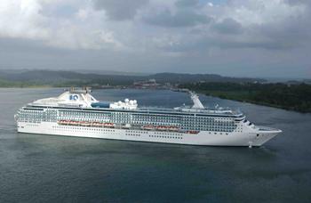 Coral Princess - Canal de Panamá