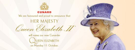 Queen Elizabeth - Bautismo
