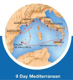 Carnival Magic - 9 dias Mediterraneo