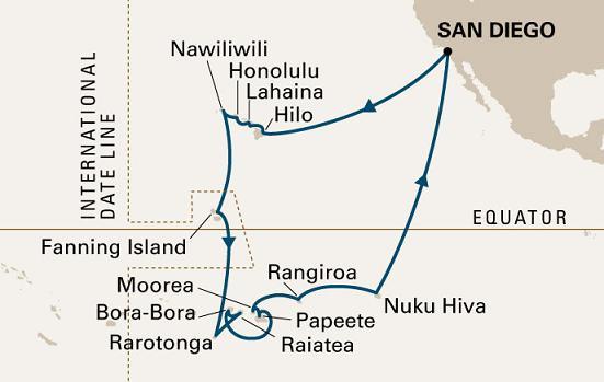 itinerario Hawai