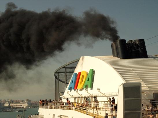 Contaminación AIDA Cruises