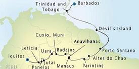Itinerario_SeaDreamII_Amazonas
