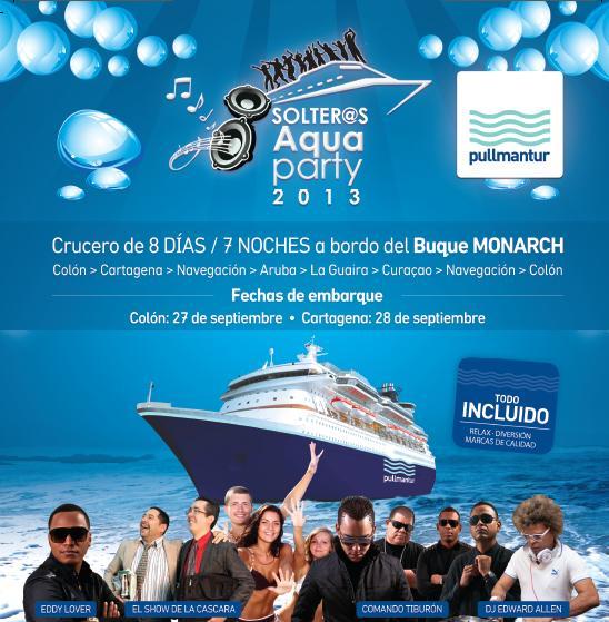Crucero Solter@s Aqua Party 2013