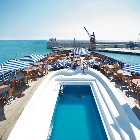 Adriana Cruise pool