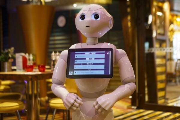 robot Pepper Costa Diadema